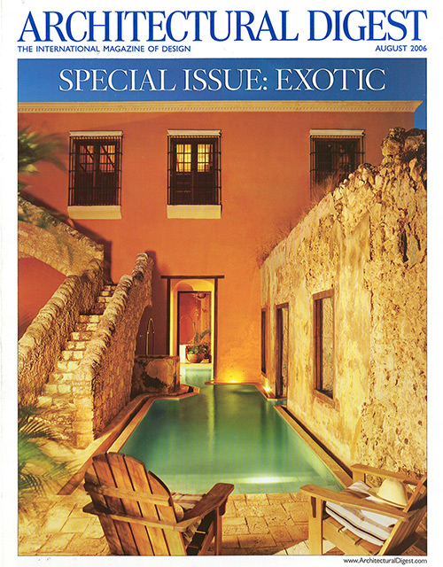 ARCHITECTURAL DIGEST AUG 06