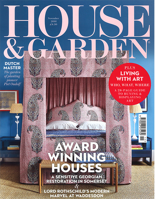 HOUSE&GARDEN NOV 16