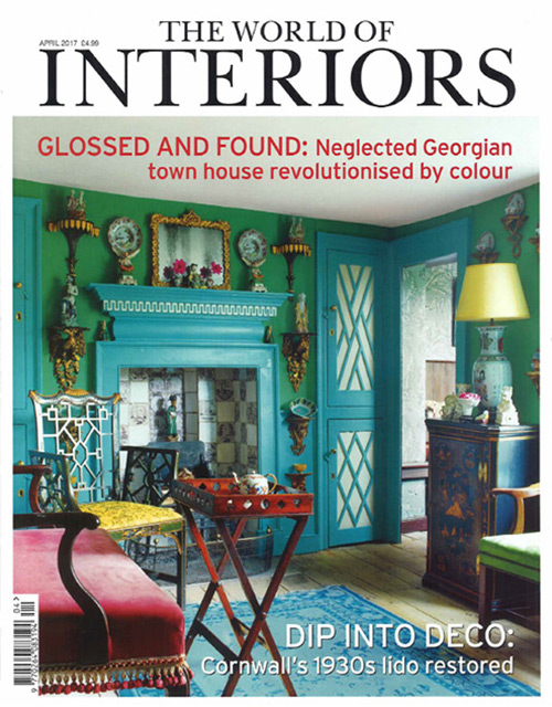 THE WORLD OF INTERIORS APR 17