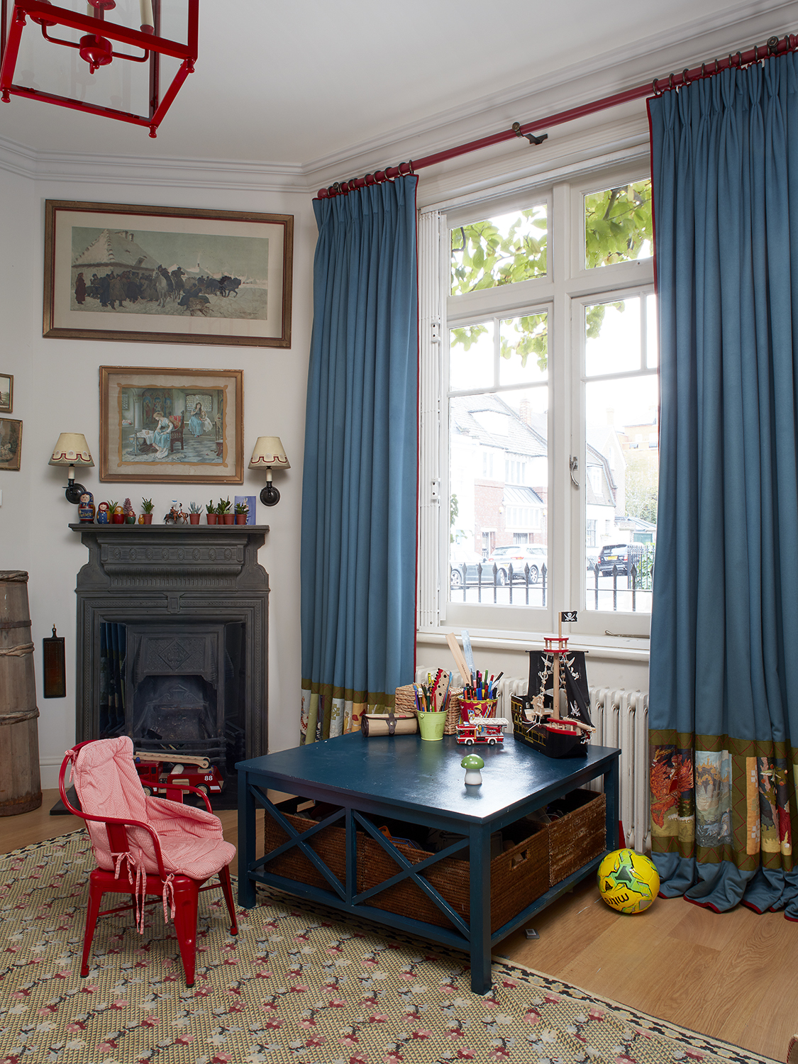 Glebe Place playroom