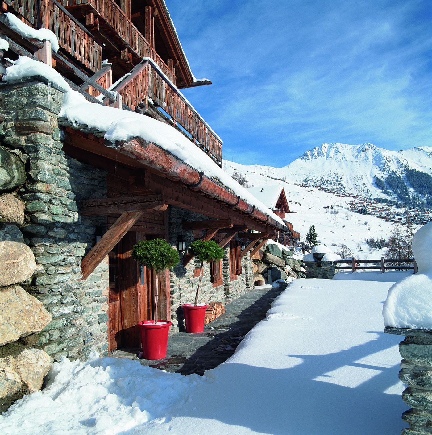 Swiss Ski Lodge